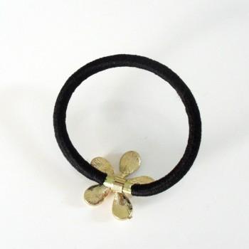 Elástico Flor Pérolas 5