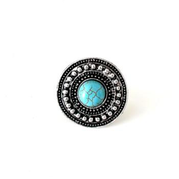 anel turquesa folk 1