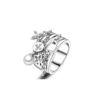 a anel pingentes platino 1