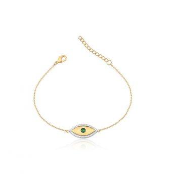 1 pulseira olho grego